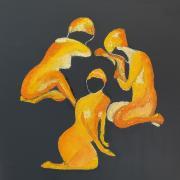 Les baigneuses jaunes