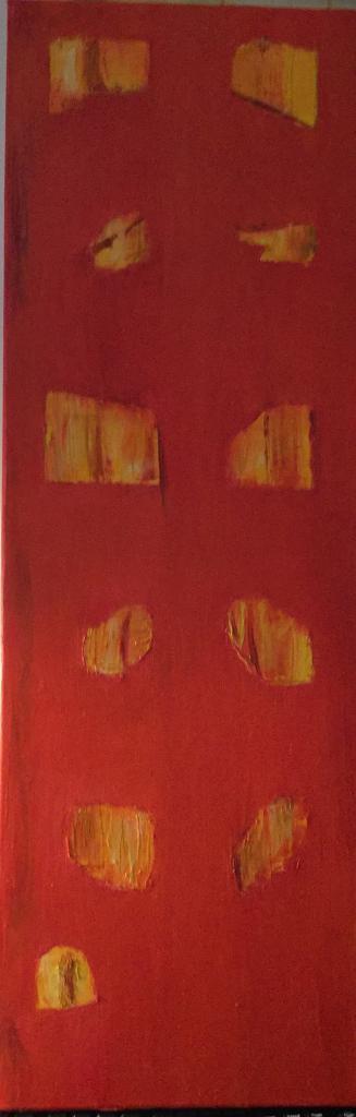 Rouge ombres jaunes