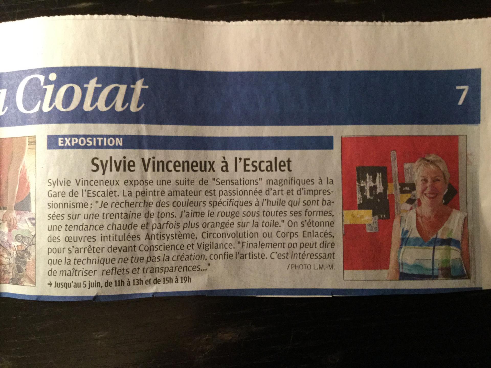 La Provence du 31 mai 2017