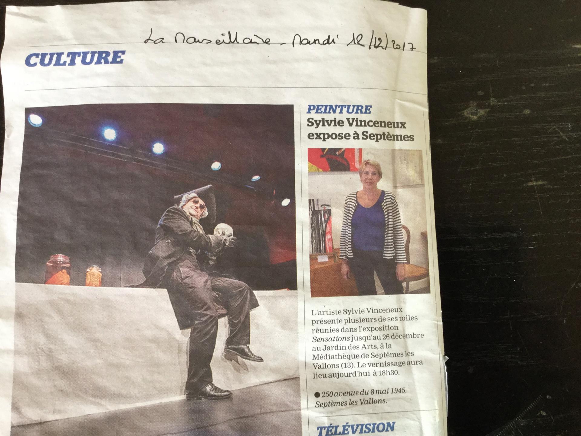 La Marseillaise du 12 décembre 20174