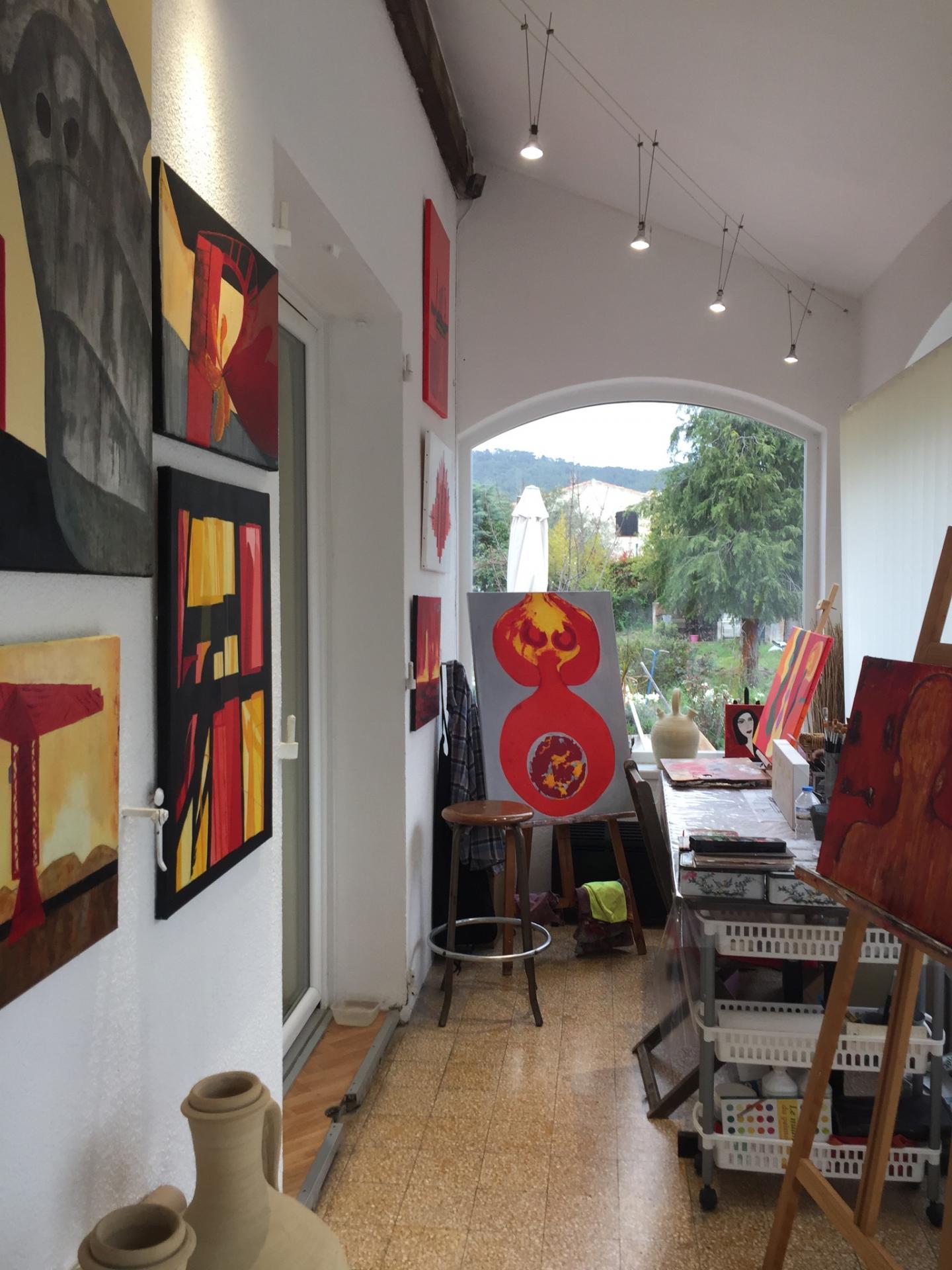 L'atelier en mars 2018